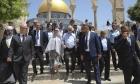 الرئيس التشيلي يزور الأقصى وإسرائيل