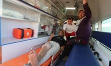 غزة: إصابة 5 شبّان برصاص الاحتلال