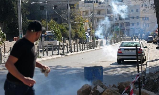 إصابات واعتقالات بمواجهات مع الاحتلال بالأمعري