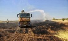 العراق: الحرائق تقضي على54380 دونما من المحاصيل الزراعية
