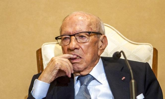 نقل الرئيس التونسي للمستشفى بعد إصابته بوعكة صحية حادة