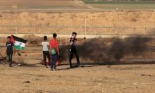 """قطاع غزة: 49 إصابة في مسيرات """"جمعة فليسقط مؤتمر البحرين"""""""