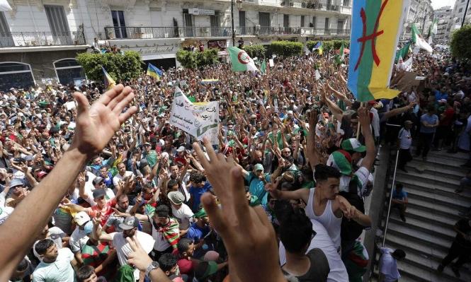 الجزائر: تظاهرات حاشدة للأسبوع التاسع عشر على التوالي