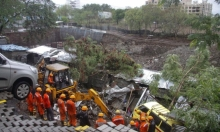 الهند: مصرع 16 عاملا في انهيار جدار