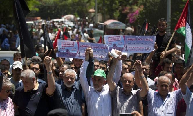 """وفد مصري بغزة لبحث """"تفاهمات التهدئة"""" والمصالحة"""