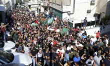 القدس: الآلاف يشيعون جثمان الشهيد عبيد