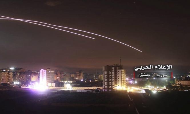 هجومان جويان إسرائيليان على دمشق وحمص يخلفان 15 قتيلا