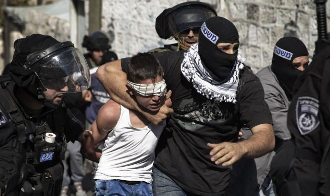 اعتقال 4 فلسطينيين بينهم طفلان بالعيسوية وشعفاط
