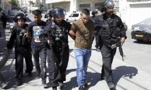 اعتقال 34 فلسطينيا بالضفة والقدس