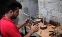 في غزّة.. الخشب والأسلاك طريقة لصنع الهدايا