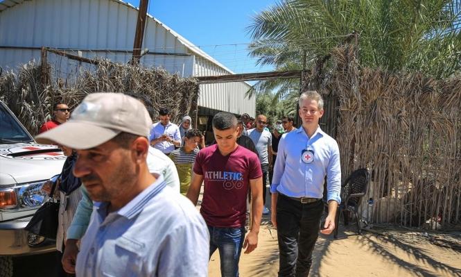 الصليب الأحمر: الحالة الاقتصادية في غزّة الأسوأ منذ 2014