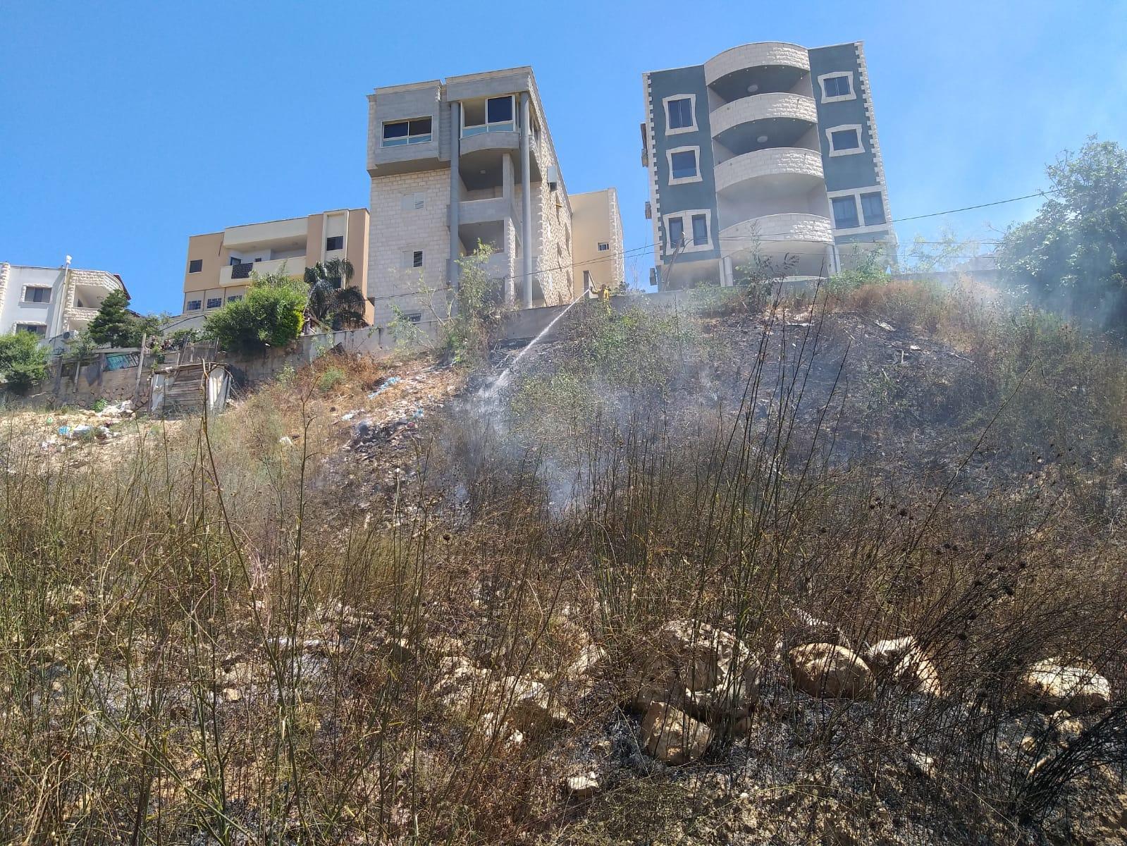 حريقان في الناصرة وعين ماهل