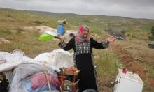 لليوم الثاني: الاحتلال يجرف محميات طبيعية بمحافظة الخليل
