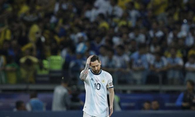 عقب الخسارة أمام البرازيل: ميسي يهاجم التحكيم
