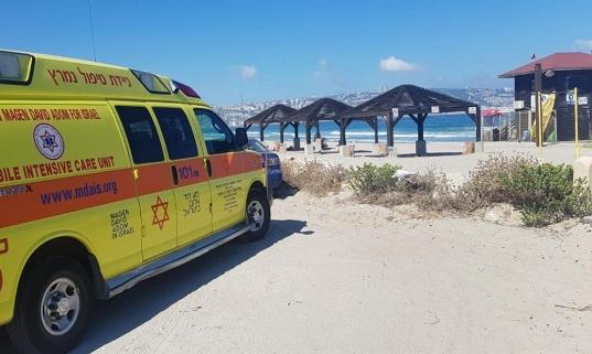 حيفا: مياه البحر تلفظ جثة شاب