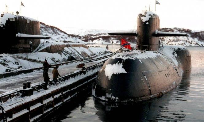 روسيا تعترف بأن الحريق كان في غواصة نووية