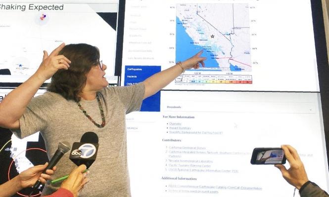 زلزال يضرب كاليفورنيا الأميركية ولا إصابات