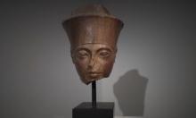 """رغم اعتراض مصر.. بيع رأس """"الفرعون الذهبي"""" بمزاد بريطاني"""
