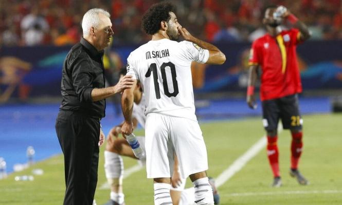 صلاح يثير قلق منتخب مصر قبل ملاقاة جنوب أفريقيا
