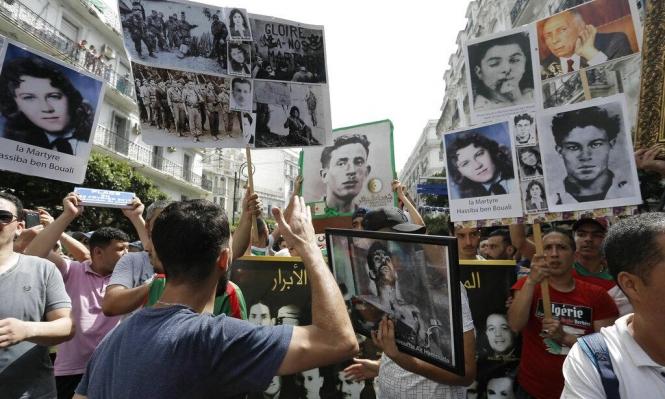 تظاهرات ضخمة في الجزائر تعزز ذكرى الاستقلال حماستها