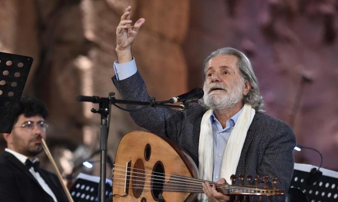 مارسيل خليفة يفتتح مهرجانات بعلبك الدولية