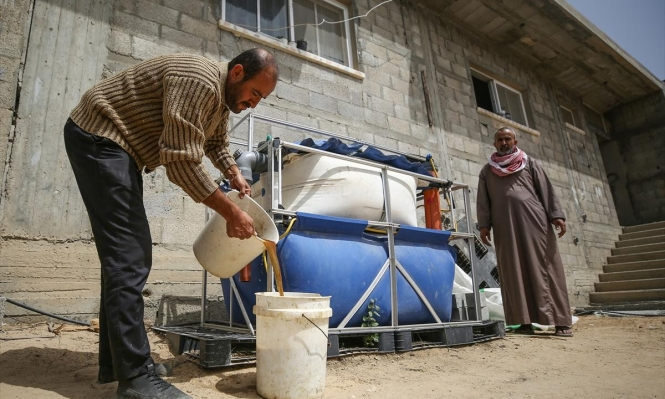 الحاجة أم الاختراع: غزة تستخرج الغاز من روث الحيوانات