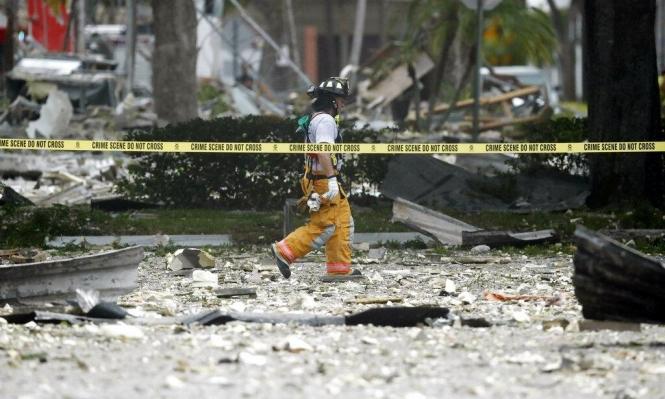 فلوريدا:أكثر من 20 مُصابا بانفجار غاز بمركز تسوق