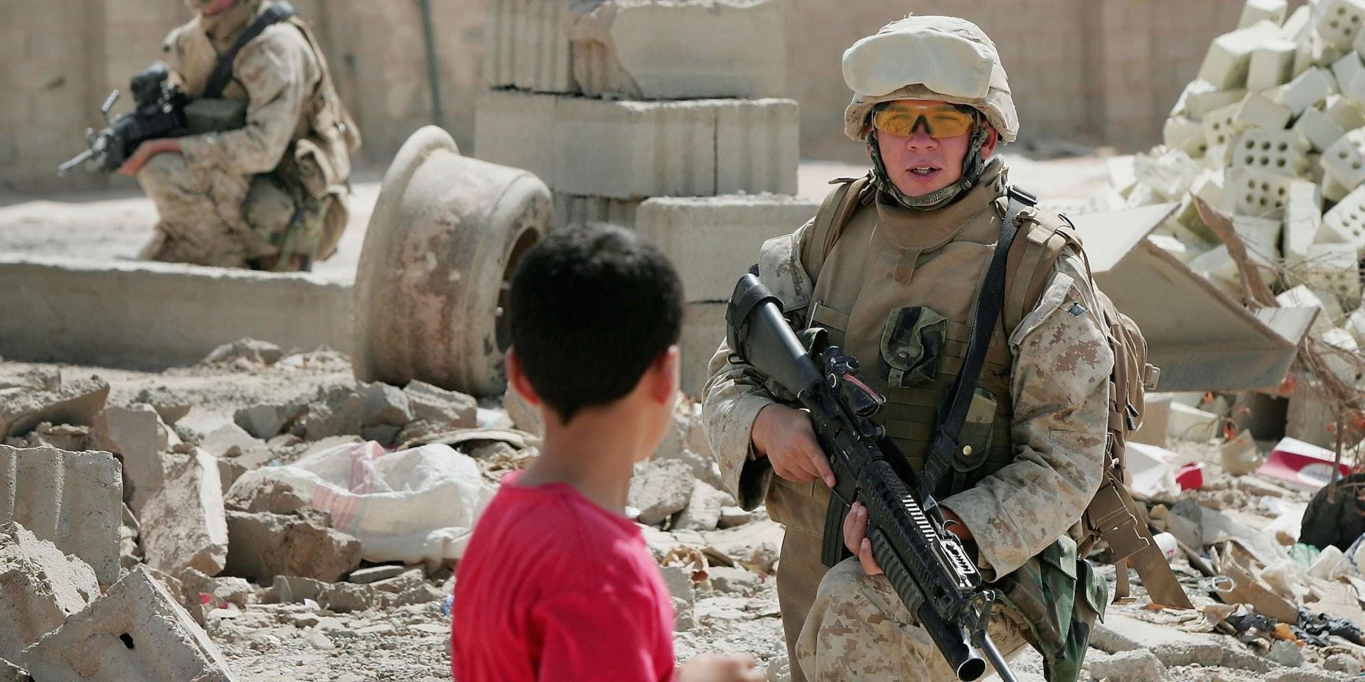 من الغزو الأميركي للعراق عام 2003 (أ ب)