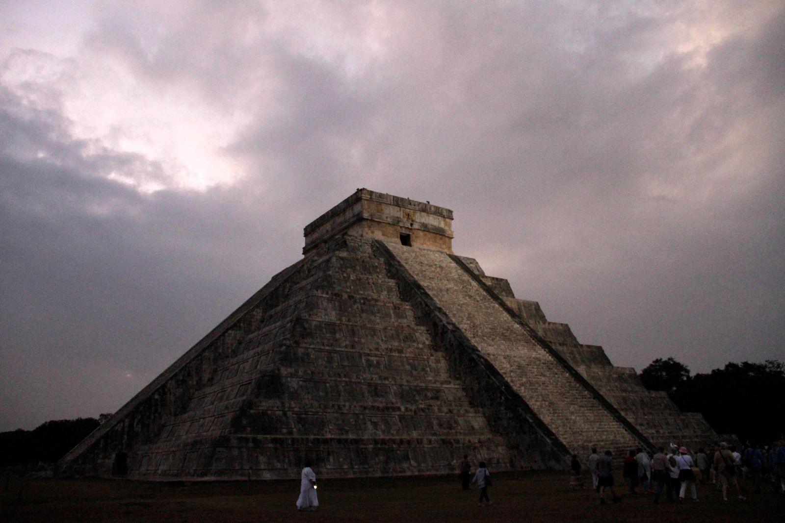 ما تبقى من حضارة المايا (أ ب)