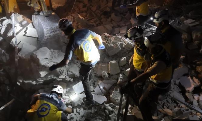 سورية: مقتل 544 مدنيا بقصف روسيا وقوات النظام خلال شهرين