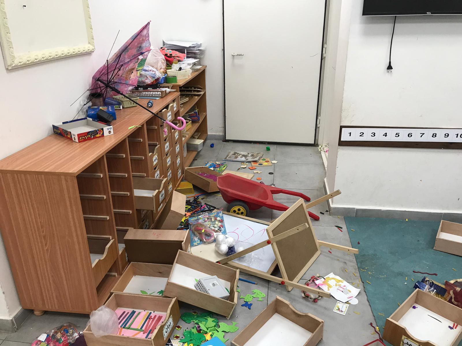 كفر مندا: تخريب وأضرار في مؤسسات تعليمية