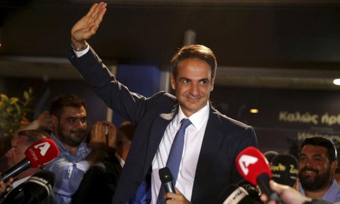 """فوز المحافظين: ميتسوتاكيس يتعهد بـ""""إنهاض"""" اليونان"""