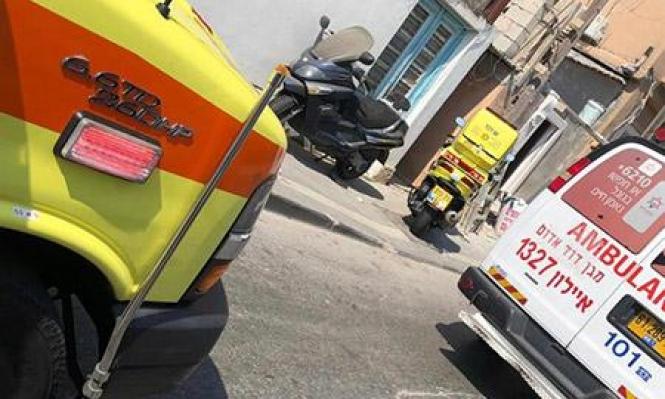 إصابة شابين في حادثي عمل يافا والمرج