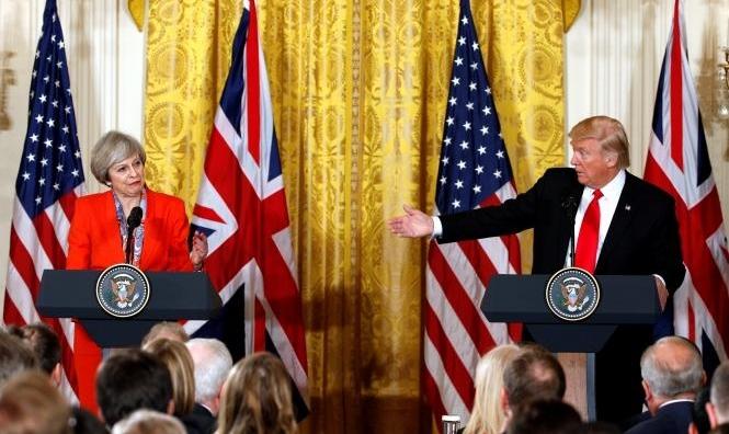 بريطانيا ستغادر الاتحاد الأوروبي في أكتوبر وترامب يحمّل ماي المسؤولية