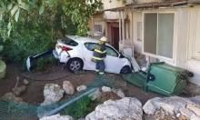 حيفا: فقدت السيطرة على سيارتها واصطدمت بمنزل