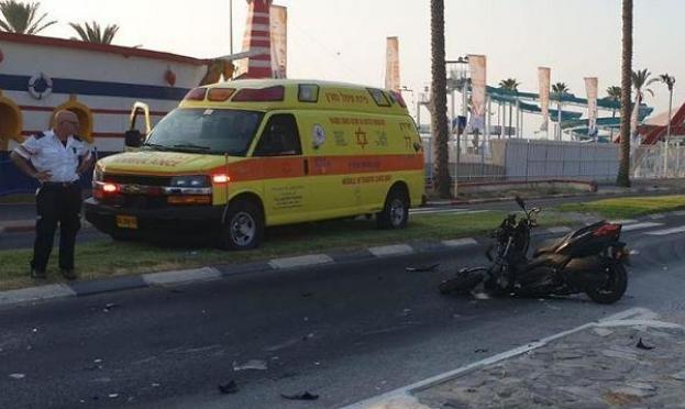 طبرية: مصرع سائق دراجة نارية في حادث طرق