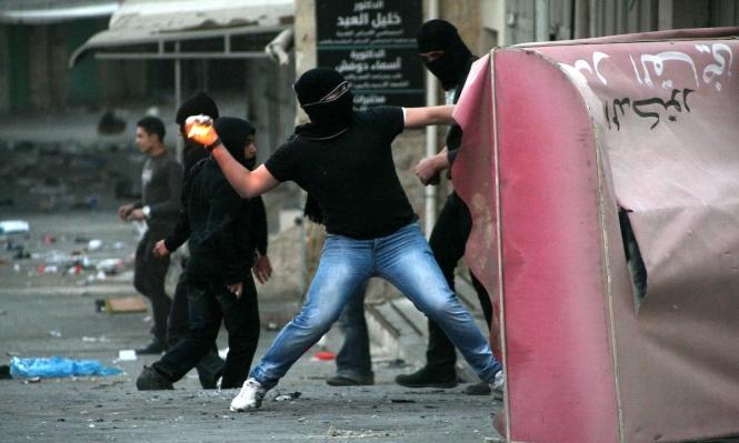 إصابة فلسطيني ألقى زجاجة حارقة على مدخل محكمة عسكرية