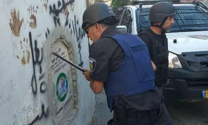الاحتلال يحطم النصب التذكاري للشهيد محمد عبيد بالعيسوية