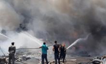 شفاعمرو: حريق في مصنع