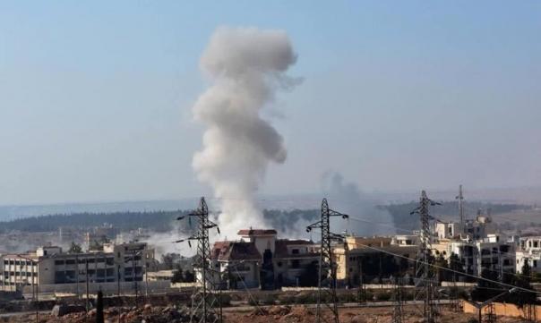 عشرات القتلى والجرحى بانفجار سيارة بعفرين السورية