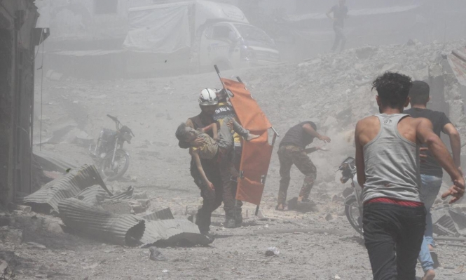سورية: مقتل 10 مدنيين وإصابة أكثر من 45 بغارات للنظام