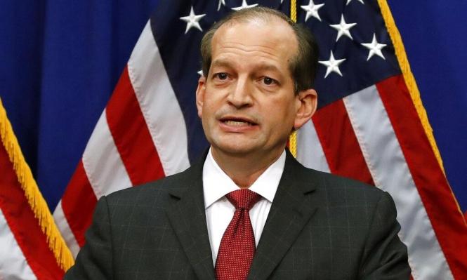 """استقالة وزير أميركي... ما علاقة """"تاجر بالقاصرات"""" بذلك؟"""