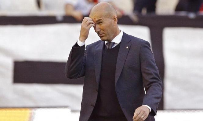 زيدان يغادر المعسكر التحضيري لريال مدريد!