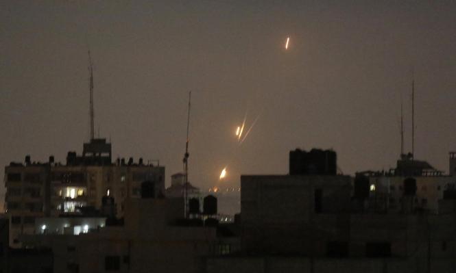 إطلاق قذيفتين من قطاع غزّة نحو أشكول وعسقلان