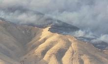 النيران تأتي على 10 آلاف دونم في محمية وادي العشة
