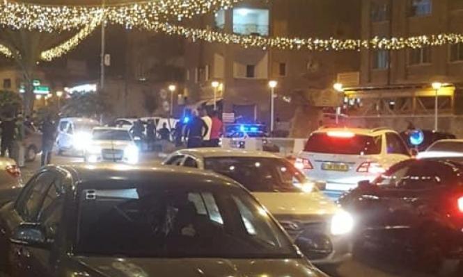 سخنين: شجار يسفر عن إصابة خطيرة وأضرار واعتقال 6 شبان