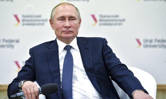 استهداف تلفزيون أوكراني بقنبلة بسبب وثائقي يتضمن مقابلة مع بوتين