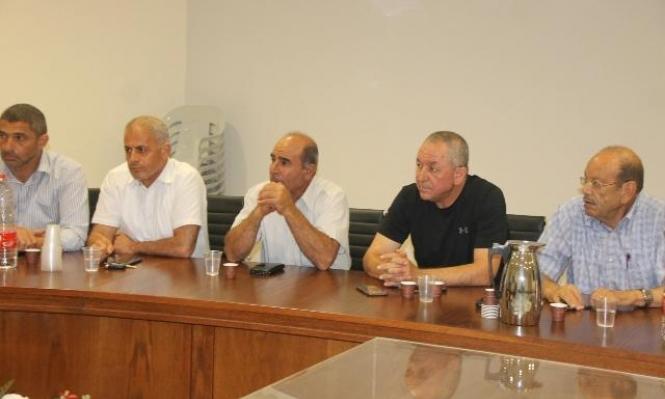 سخنين: اللجنة الشعبية والبلدية تضعان خطوات لردع العنف والجريمة