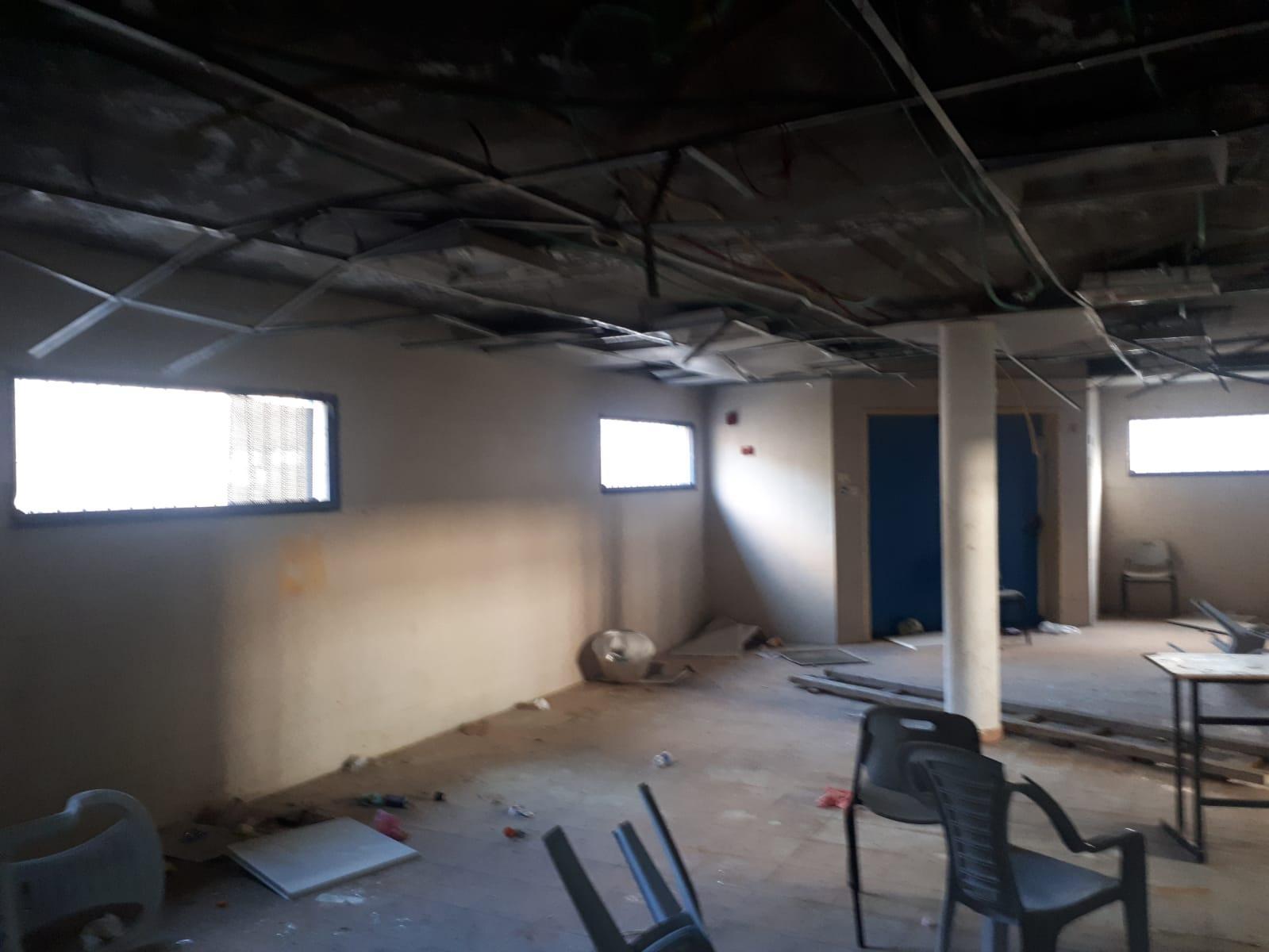 أم الفحم: تخريب في قاعة مدرسة الرازي