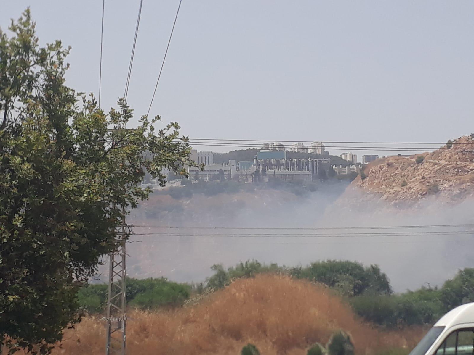 حرائق في حيفا والناصرة وعرعرة وبرطعة والقدس